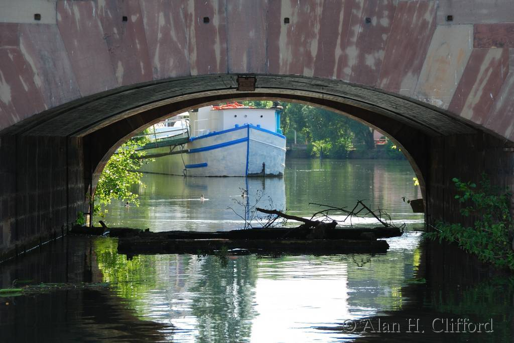 Under the Vauban Dam, Strasbourg